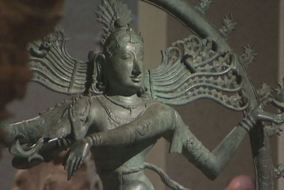 The Shiva bronze statue which the National Gallery of Australia purchased in 2008 for $5 million