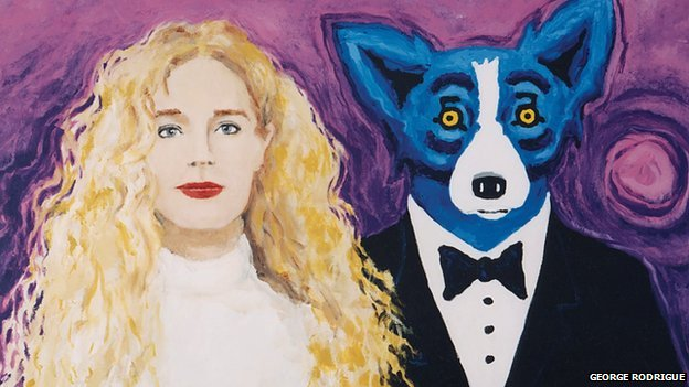 """Wendy and Me"", by George Rodrigue"