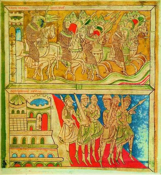 A page from the Codex Calixtinus