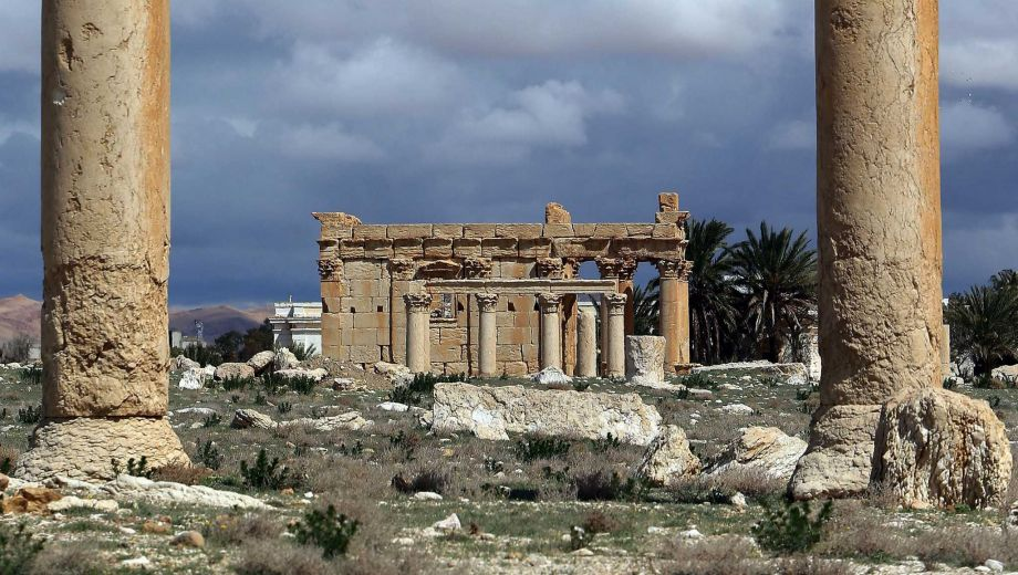 The Temple of Baal Shamin, in kappier times