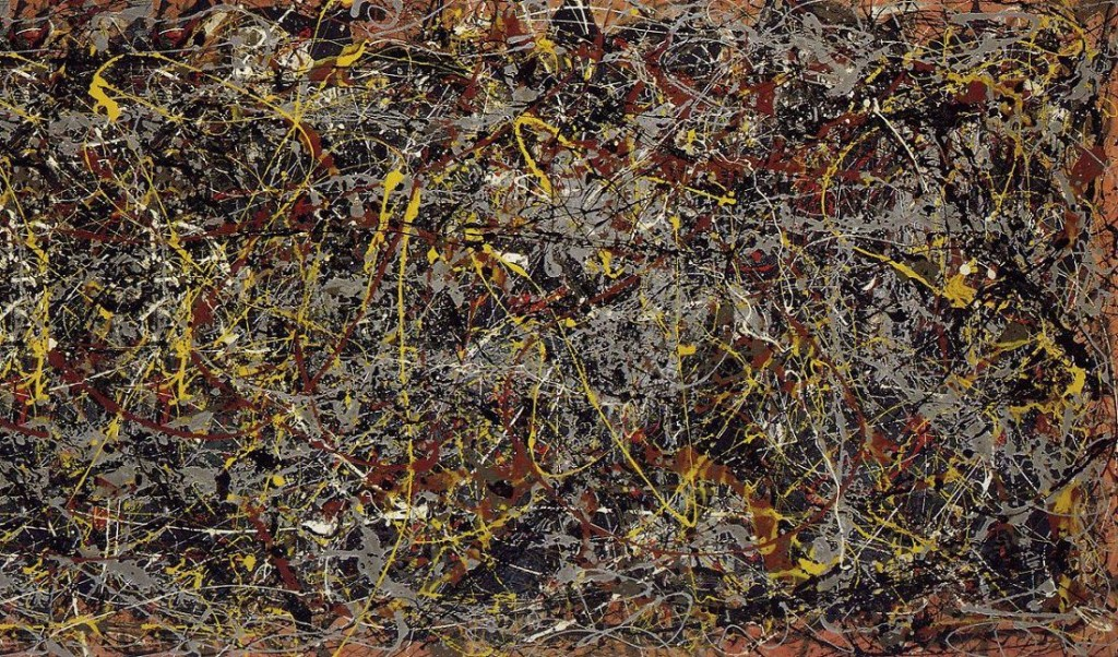 """Most agree that Jackson Pollock's """"Number 5"""" should be afforded First Amendment protection, but why?"""
